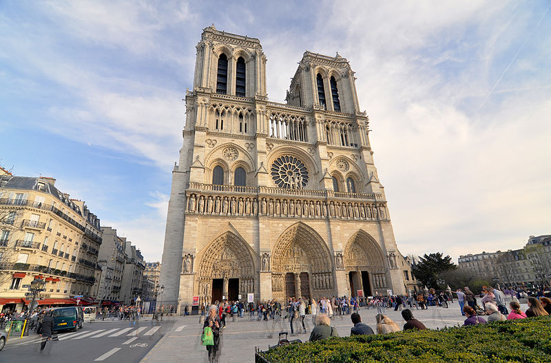 Notre Dame Cathedral - Wikimedia Commons