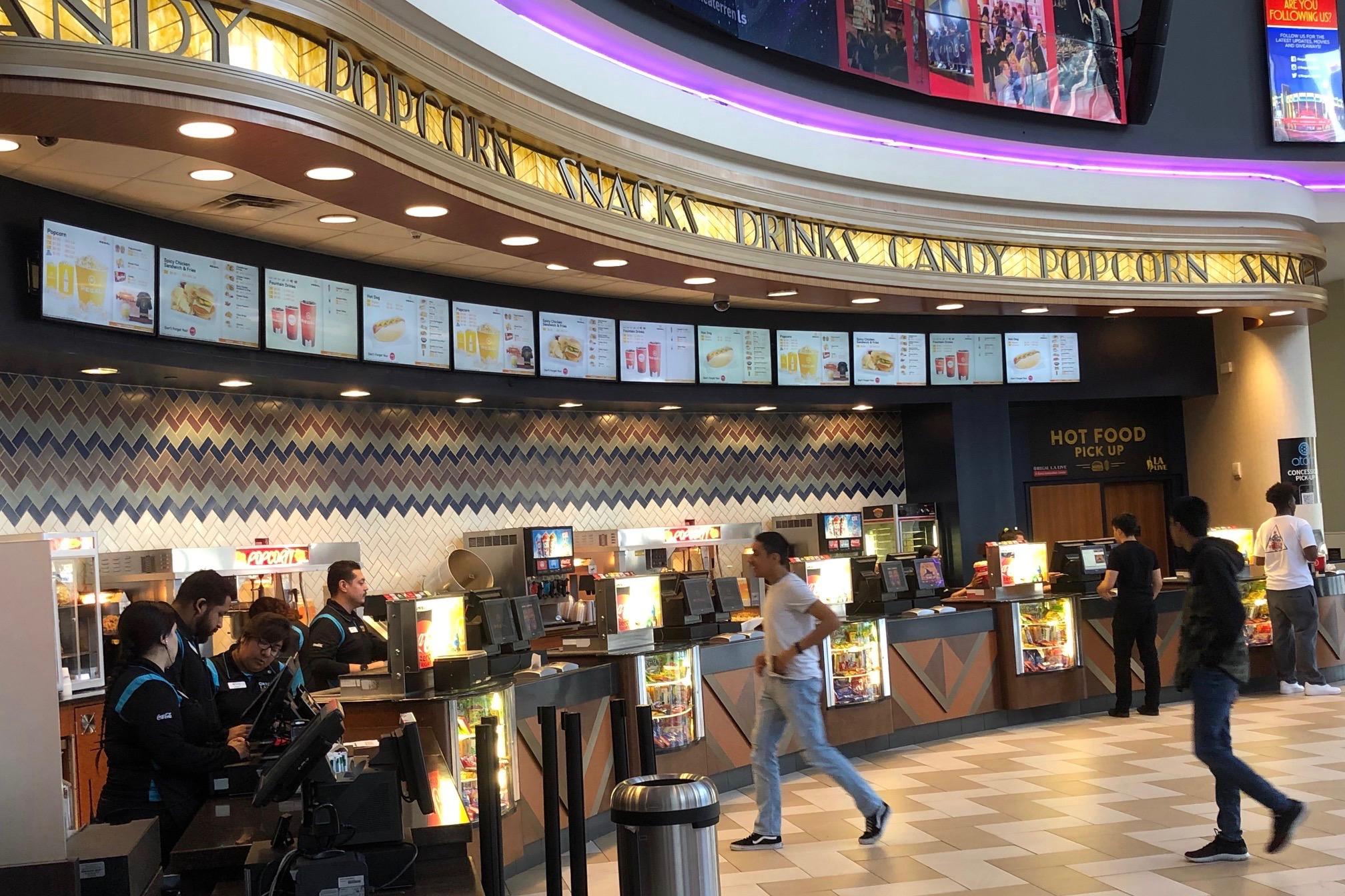 Cinema lobby . Photo by John Sullivan