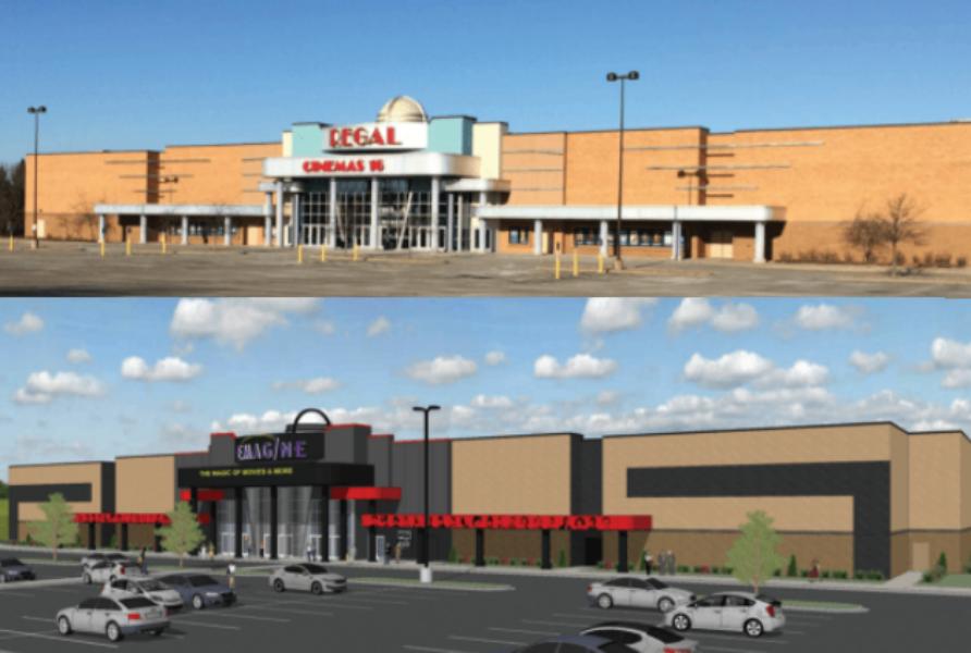 Regal Cinema, Eagan, Minnesota