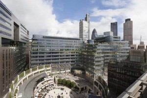 Broadgate Circle artist impression