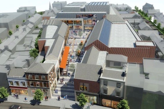 New town centre for Bray, south of Dublin, includes 5-screen cinema