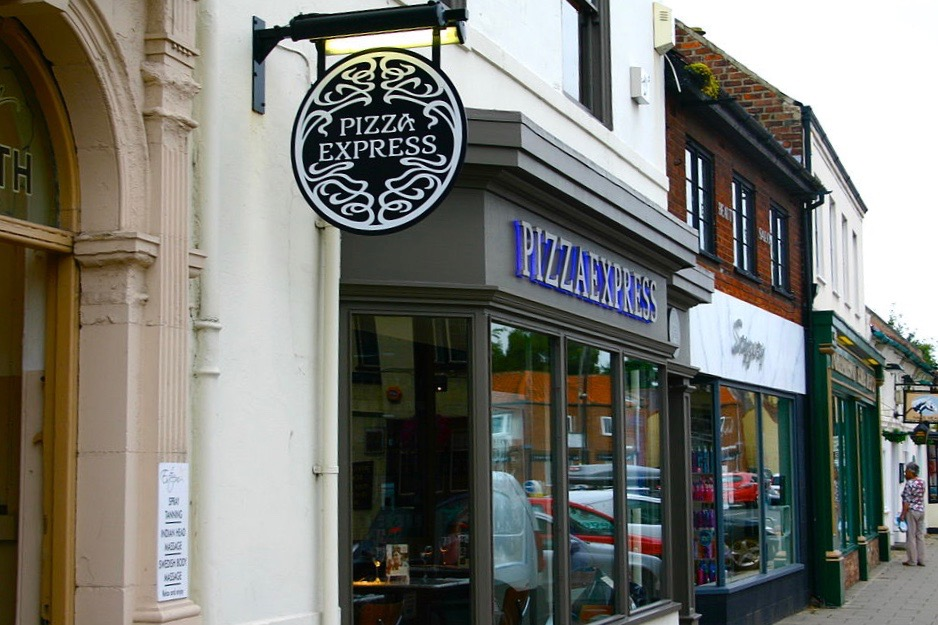 Northallerton Pizza Express -- Wikimedia Commons