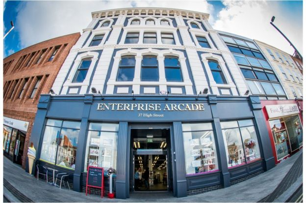 The Enterprise Arcade is now home to 16 start-up businesses.