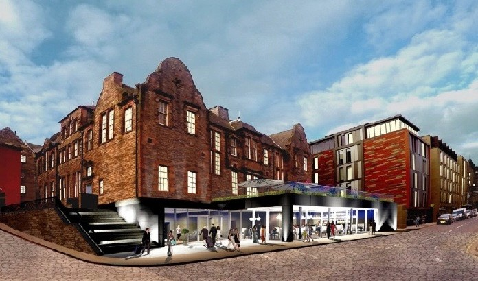 Edinburgh Castle's Canongate offered at £8m for boutique hotel