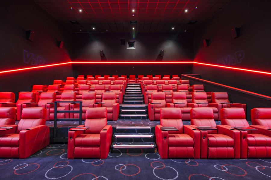 Cineworld auditorium