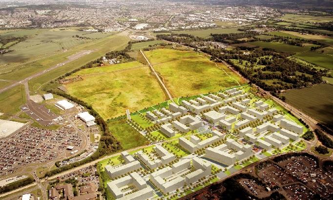 Councillors back Edinburgh Airport 'Gateway' mixed use scheme