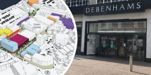 Folkestone: cinema plans announced for vacant Debenhams site