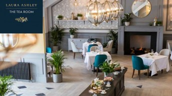 New Laura Ashley tea room concept to launch in Cornwall