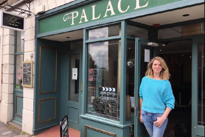Palace Cinema owner/manager Lara Hewitt