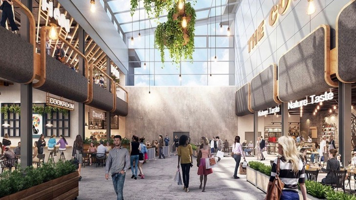 £60m shopping centre extension anchored by cinema & John Lewis