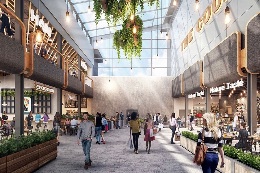 Artist impression of proposed Queensgate extension