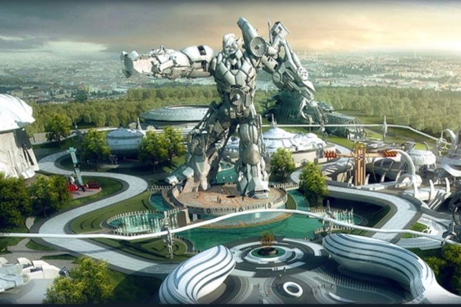 VR Start theme park, Guangzhou, China
