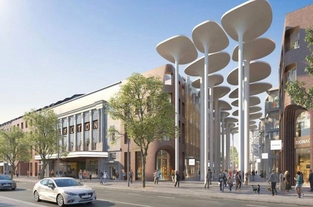 New Dublin master plan includes shopping and cinema in historic style