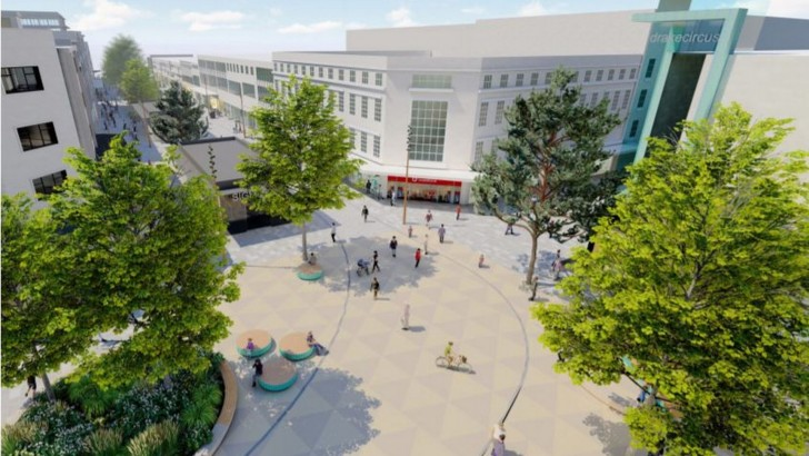 Major upgrades for parts of Plymouth city centre proposed by British Land