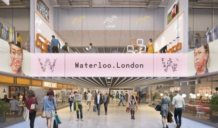 New shopping centre in former Eurostar terminal, Waterloo