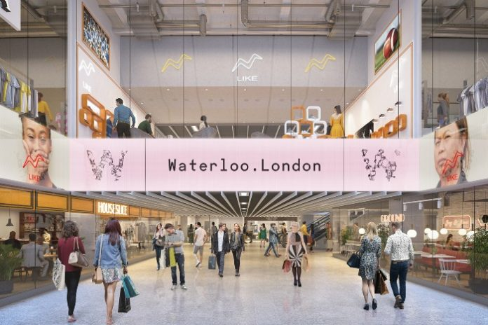 Waterloo shopping centre