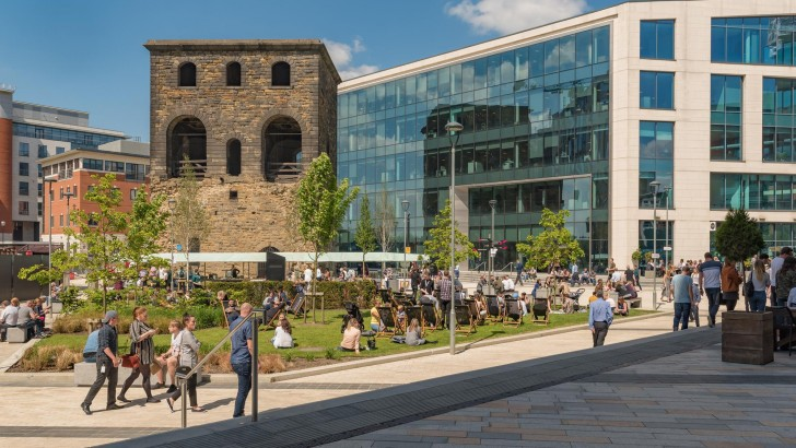 Leeds office development puts amenities and placemaking first