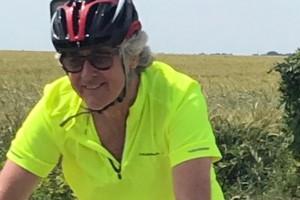 John Sullivan cycling