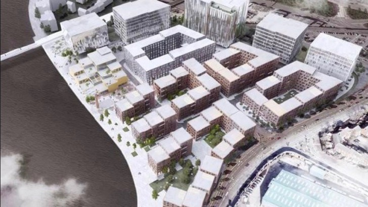 Approval recommended for £400m Belfast redevelopment plan