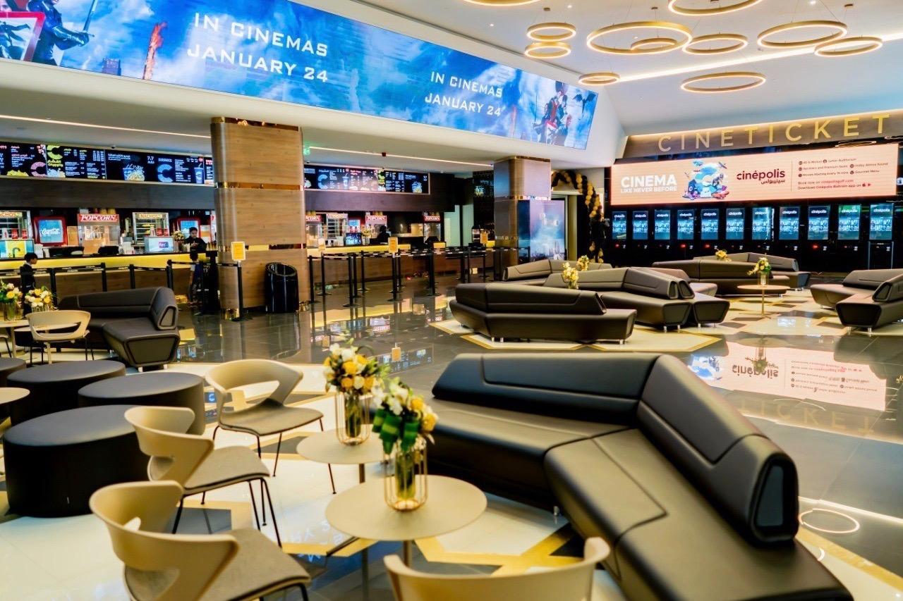 Cinepolis cinema foyer