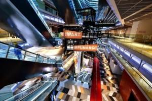 Funan Mall interior