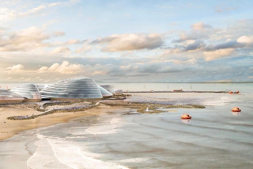 Eden Project North proposed in 2018 by Grimshaw Architects