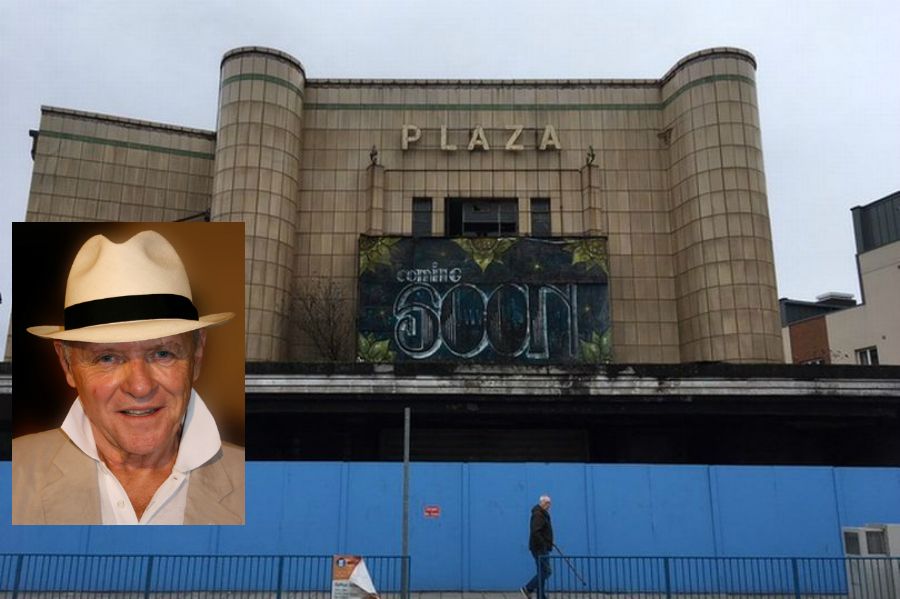 Plaza Cinema Port Talbot with Sir Anthony Hopkins