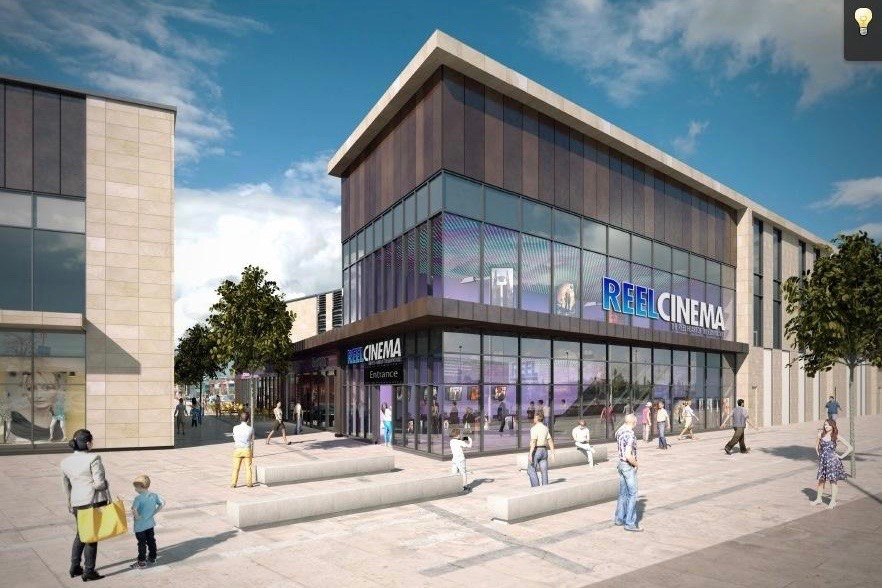 CGI of Reel Cinema planned for Chorley