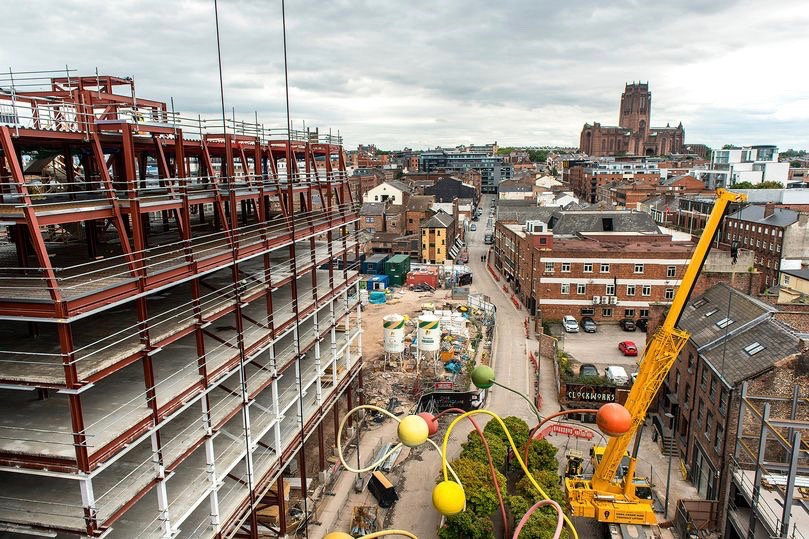 Liverpool's multi-million pound Wolstenholme Square development is finally completed
