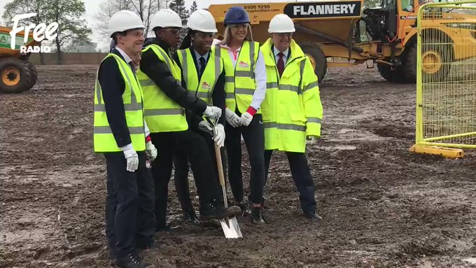 Construction work on Birmingham Commonwealth Games Village begins