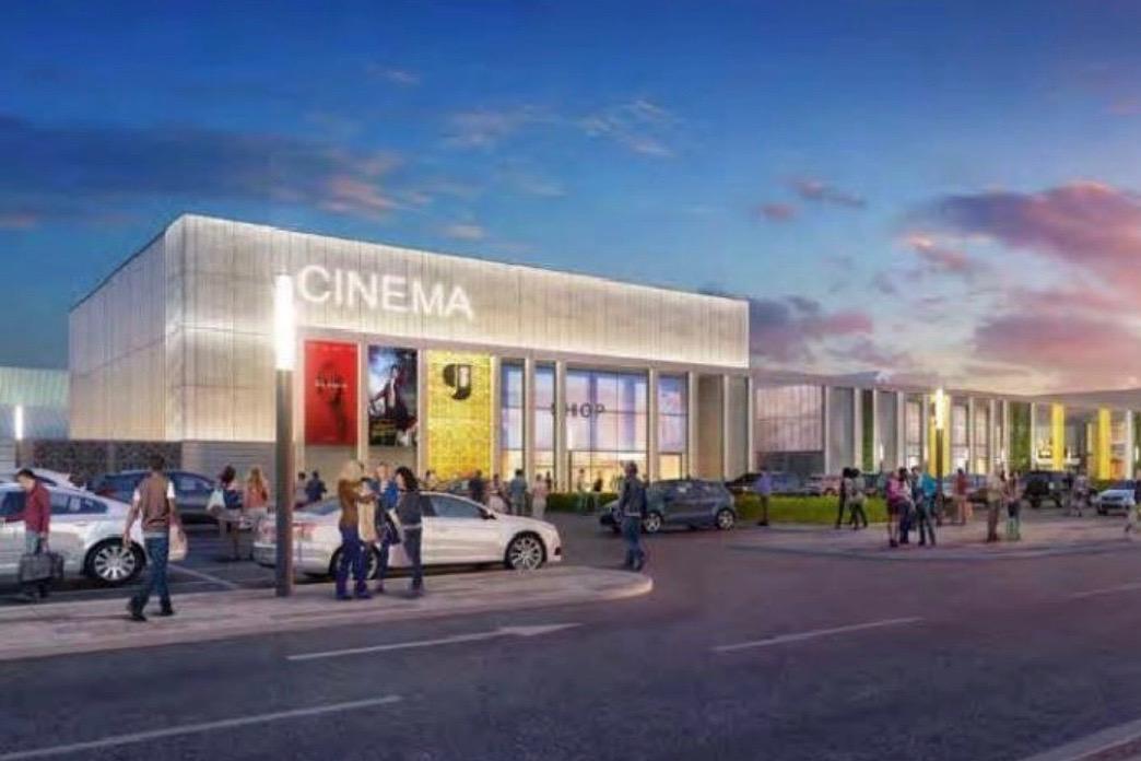 artist impression of proposed cinema at Gyle shopping centre, Edinburgh