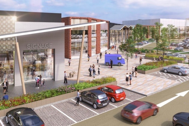 A CGI of what the new Tollgate Village in Stanway could look like Picture: CORSTORPHINE AND WRIGHT ARCHITECTS