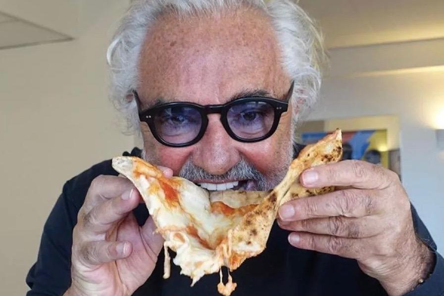 lavio Briatore has opened a pizza restaurant in Marylebone -- Crazy Pizza London