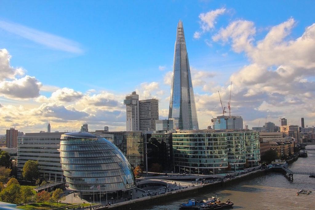 Southwark landmark, The Shard. Wikimedia Commons