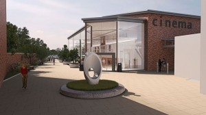 Concept drawing for Sleaford cinema development