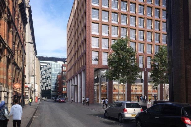 How the new buildings could look from Bixteth Street (Image: Liverpool City Council)