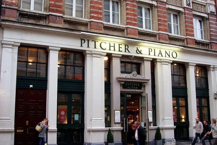 Pitcher & Piano Trafalgar Square