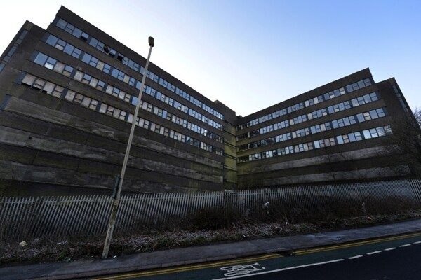 The 'eyesore' Cavendish House