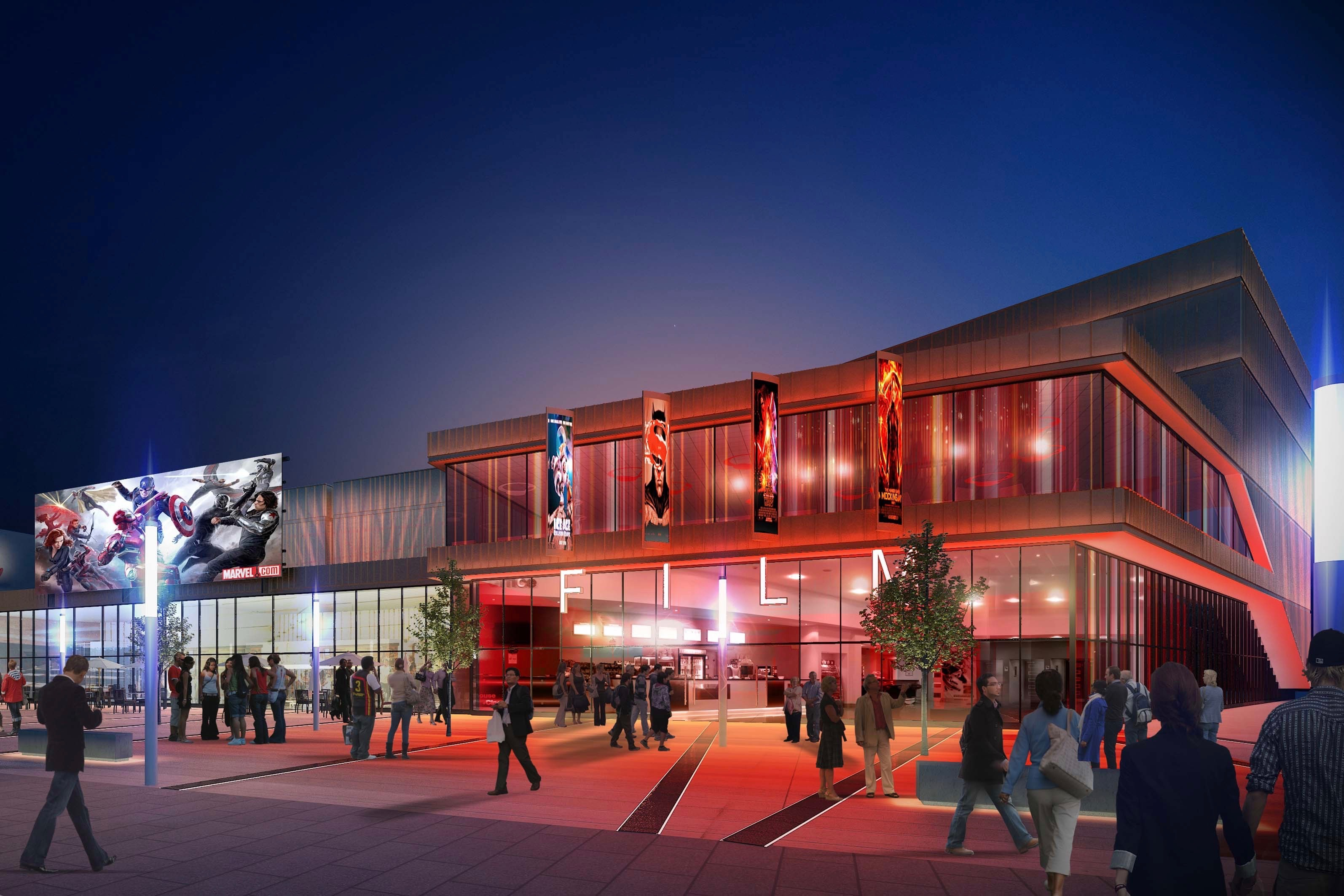 Artist's impression of the Westside development in Wolverhampton