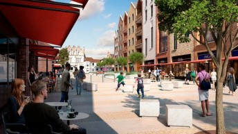 Egham town centre regeneration to include boutique cinema