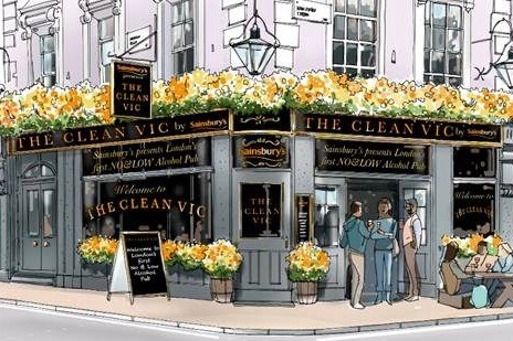 London welcomes the UK's first no and low alcohol pub