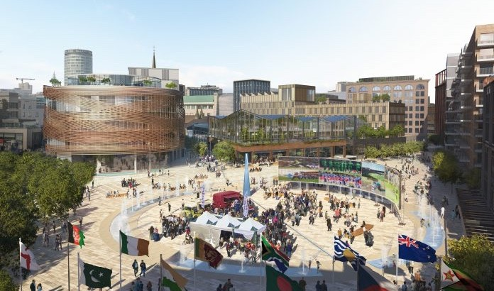 Designers shortlisted for £1.5bn Birmingham city-centre project