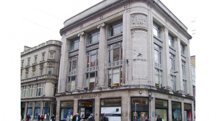 Historic Cardiff department store to become leisure-led 'hub'
