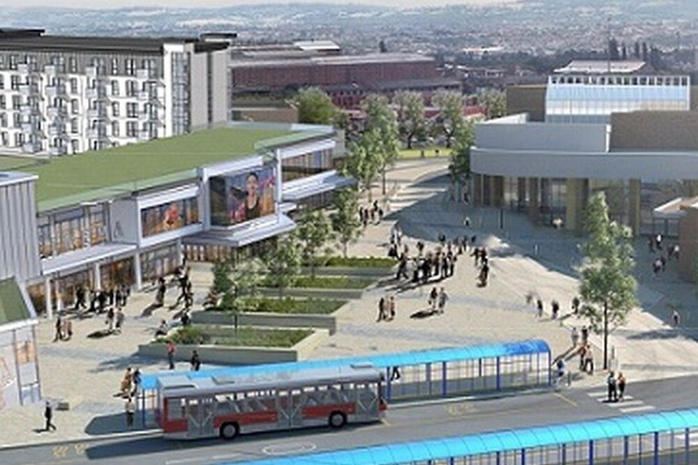 Artist's impression of how Portersfield development in Dudley could look