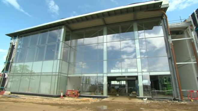 Silverstone £20m museum delay as building firm collapses