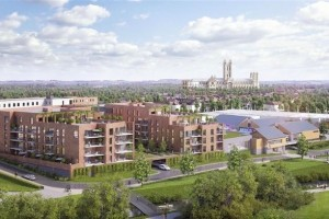What the Canterbury Kingsmead development could look like. Picture: Hyde