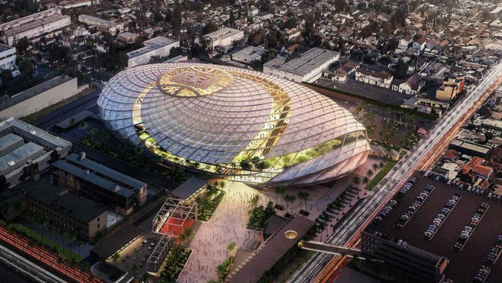 US$1bn arena for the LA Clippers designed to resemble basketball net