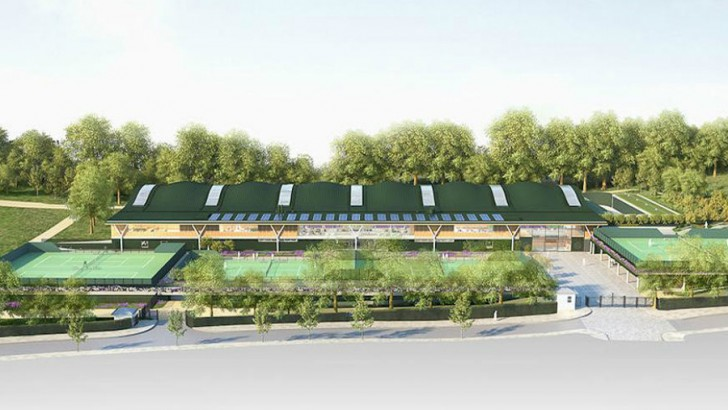 Wimbledon to serve up new tennis complex for £70m