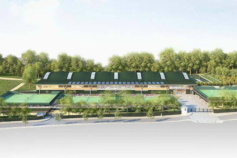 New Wimbledon tennis complex