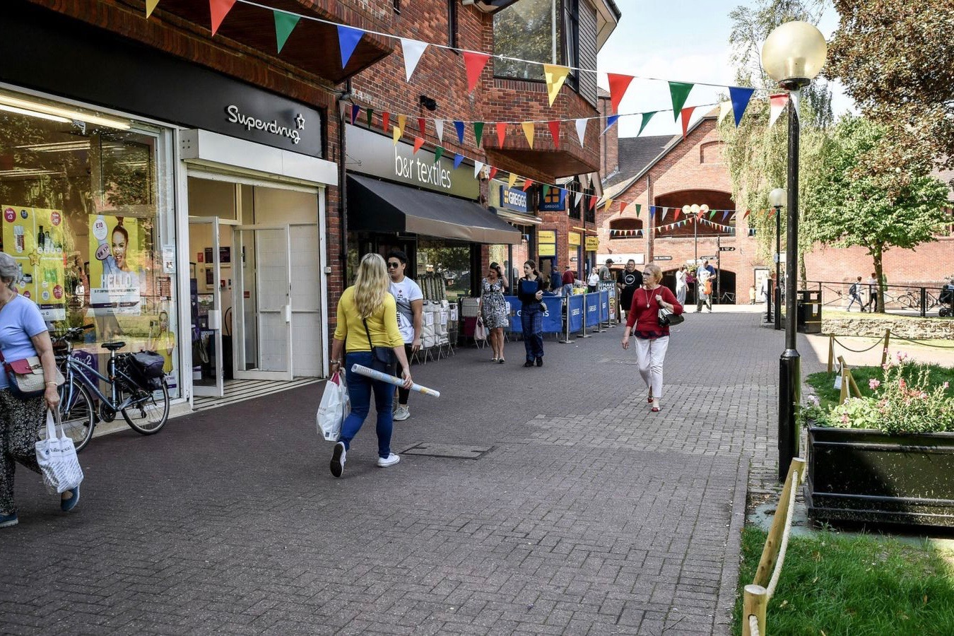 Salisbury town centre is one of the places that will benefit from the fund